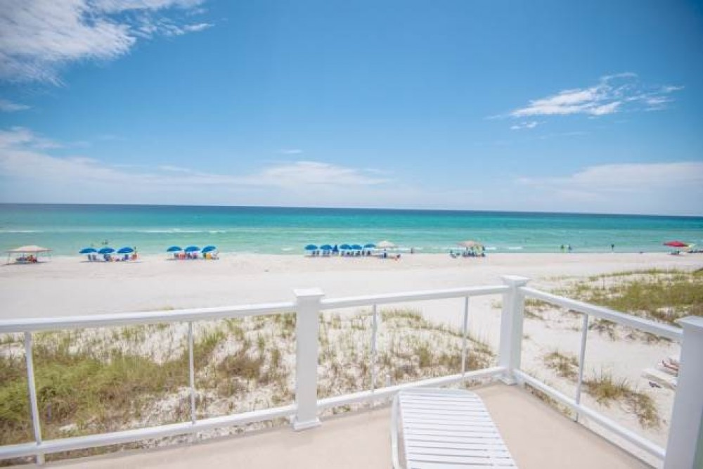 Panama City Beach vacation rental with Diamond Dunes  4 BR   4 BA house - gulf front in Inlet Beach  Sleeps 10