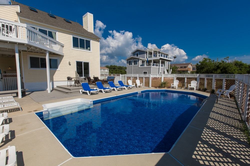 Virginia Beach vacation rental with Chic   modern 5 bedroom home w  private pool   games  short walk to the beach