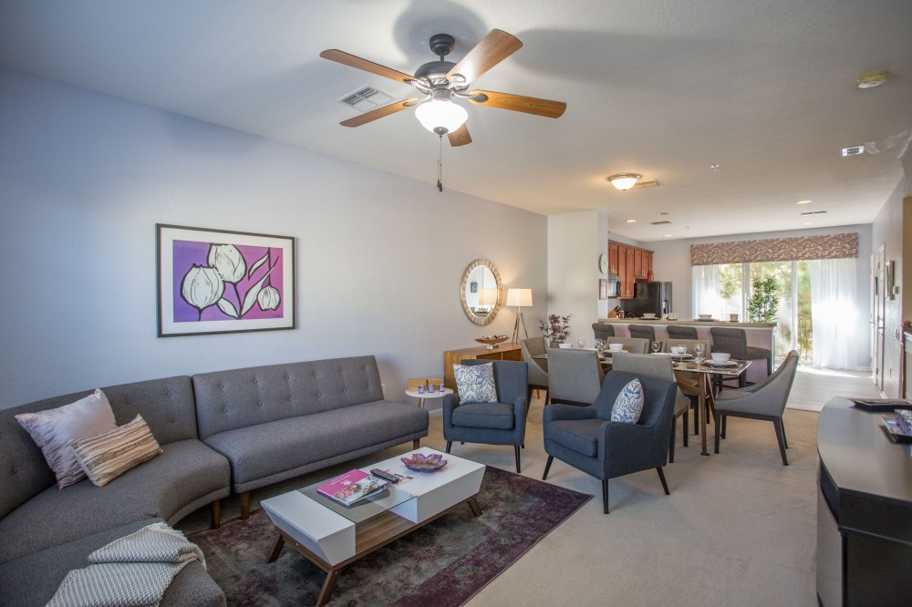 Orlando vacation rental with   Dolce Villa Deluxe Townhome At Vista Cay Resort Sleeps 8