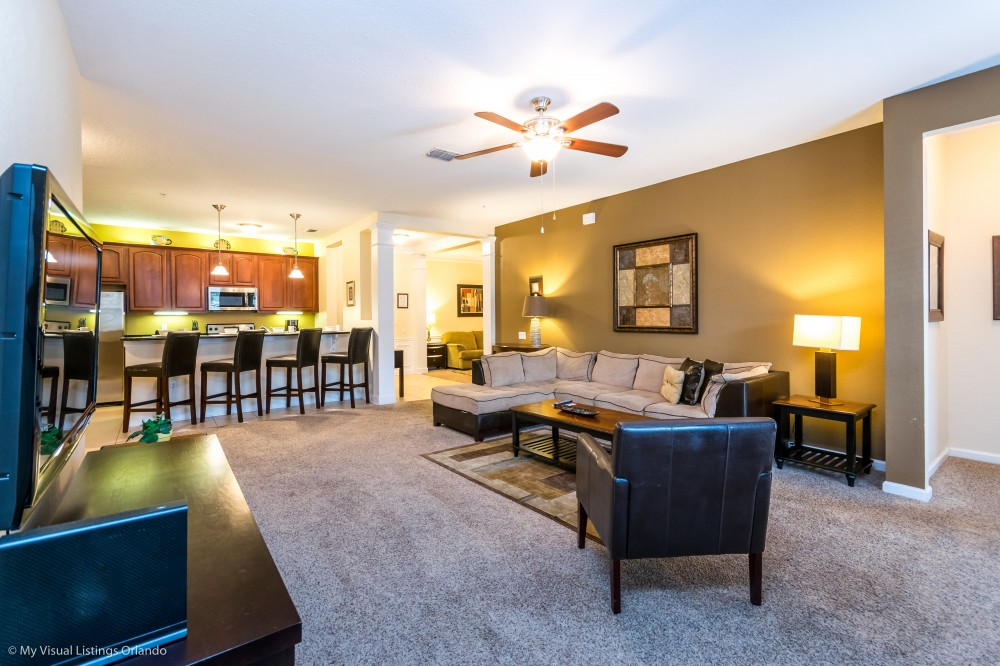 Orlando vacation rental with Casa Michael  -Detailed Luxury Condo with Lots of Space