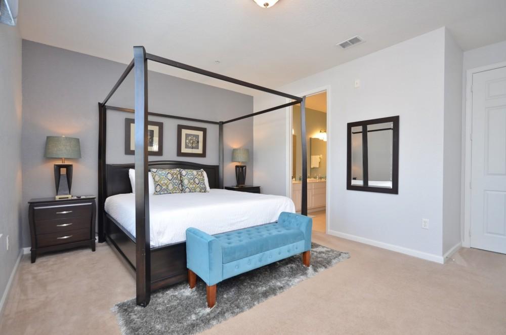 Orlando vacation rental with Deluxe 2100 Sqft Condo At Vista Cay Resort Sleeps 8 10 Next To CC
