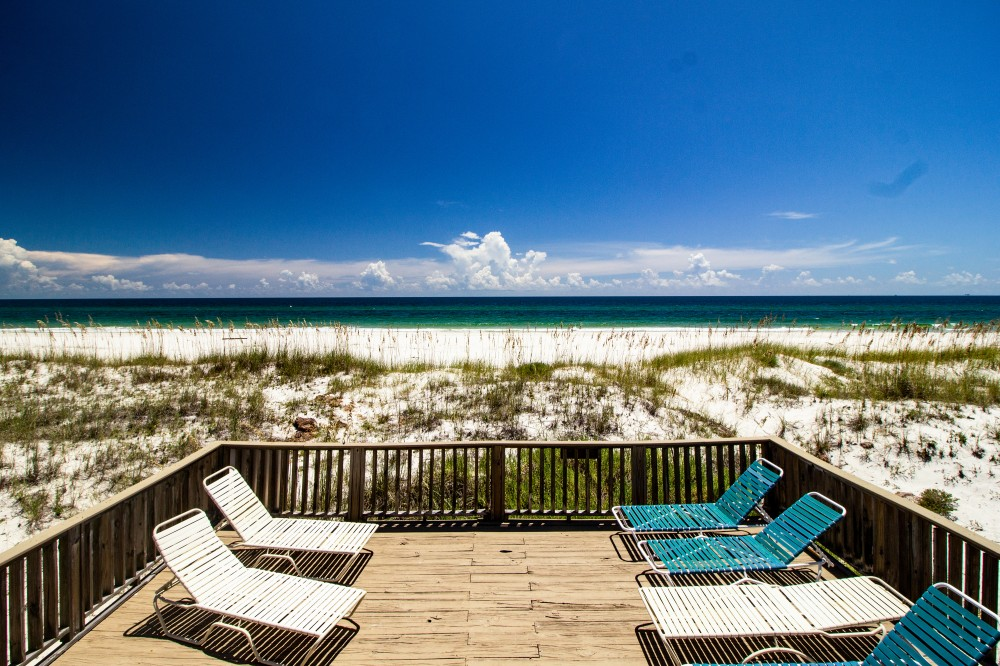 Gulf Shores vacation rental with Viewofthebeachfromthelowerdeck
