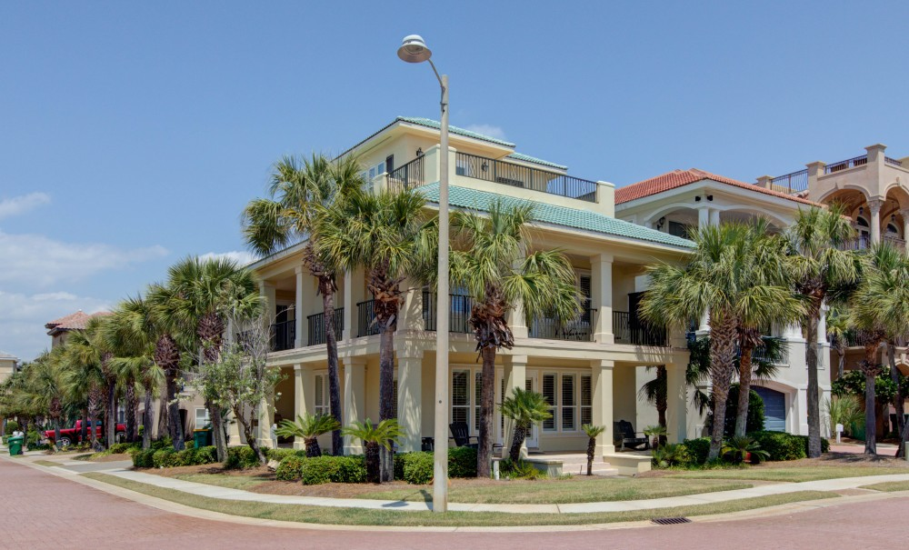 Destin vacation rental with HouseExterior