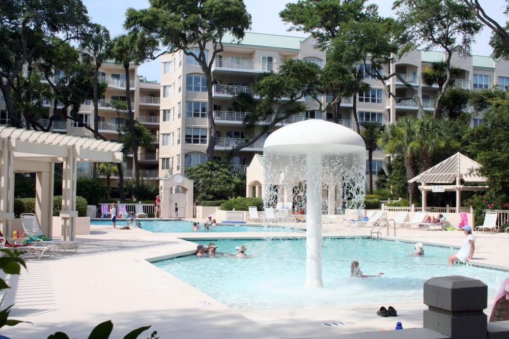 Hilton Head Island vacation rental with ZeroEntryBabyPoolwithWaterFeature