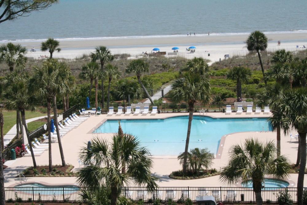 Hilton Head Island vacation rental with ZeroEntryOceanfrontPool