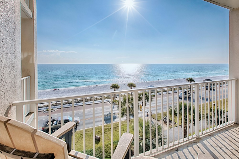 Miramar Beach vacation rental with BalconyView