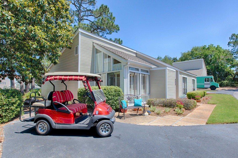 Miramar Beach vacation rental with GolfCart