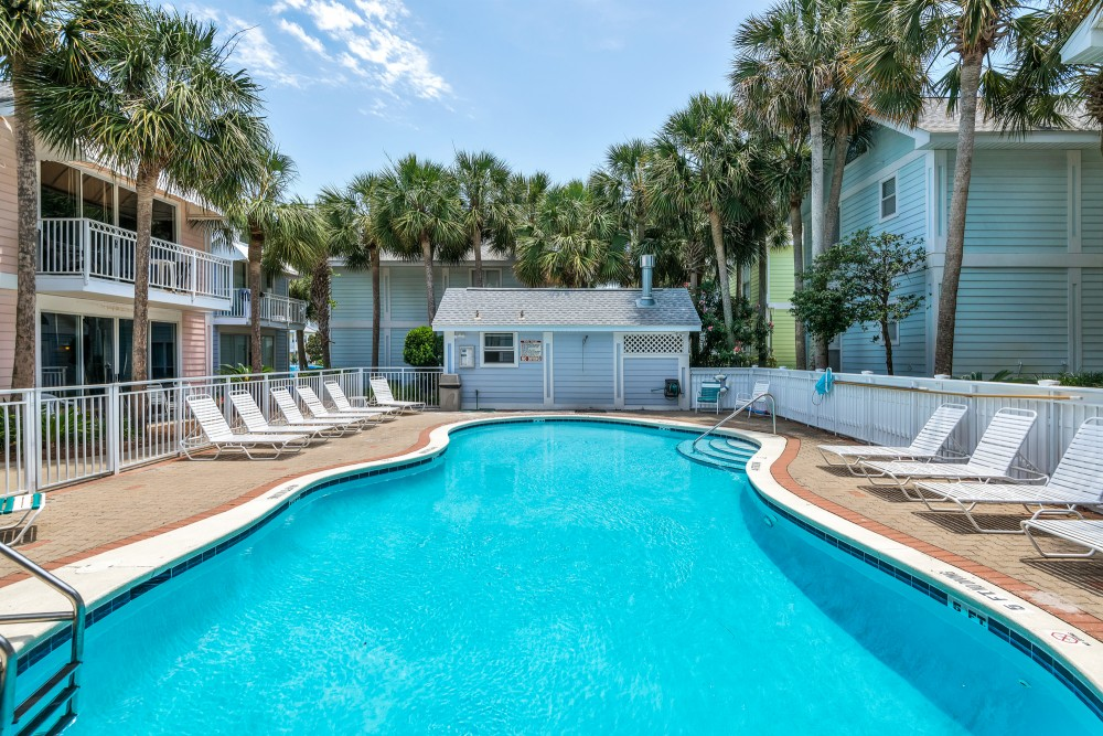 Destin vacation rental with Pool