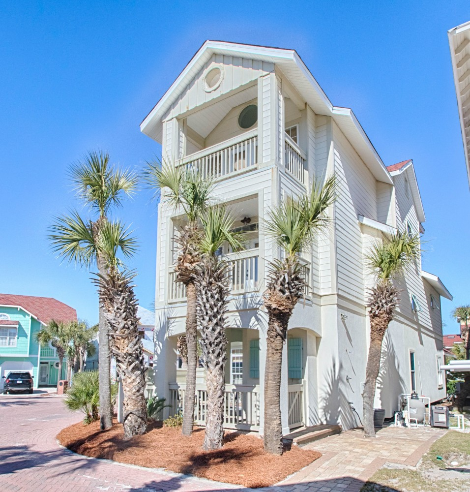 Miramar Beach vacation rental with Floridays- Private Pool -Gulf Views-Steps to the Beach