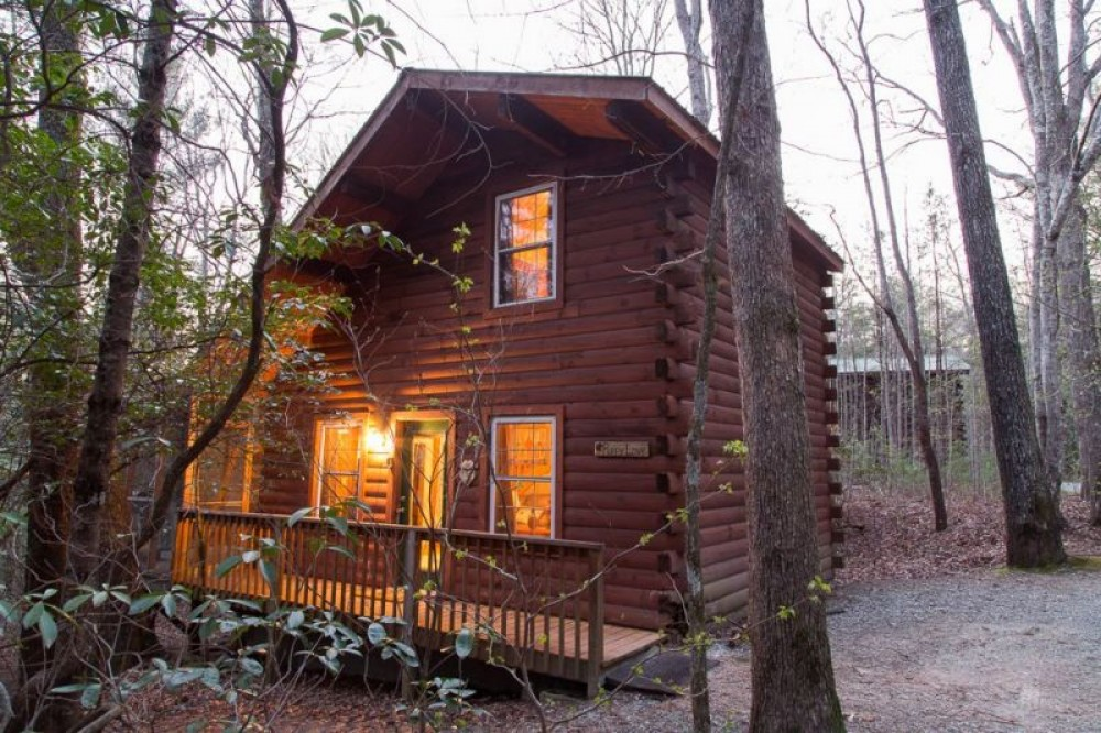 Sautee Nacoochee vacation rental with And They Called It Puppy Love