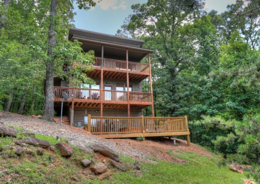 Cleveland vacation rental with Fantastic Mountain Views from All Levels