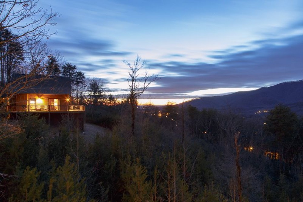 Cleveland vacation rental with Witness the Sun Rise and Set from Above Alpine Helen