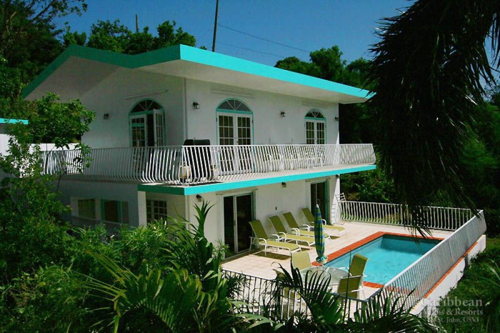 Cruz Bay vacation rental with Aqua Gem