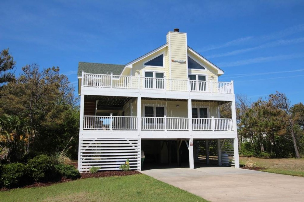 Corolla vacation rental with Sea Sisters