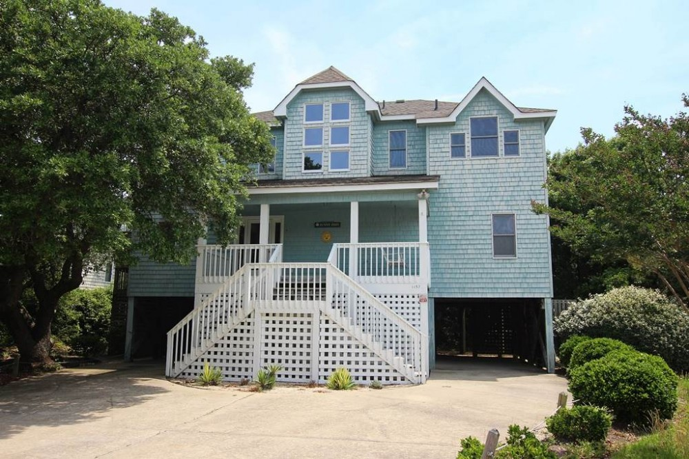 Corolla vacation rental with Sunny Days