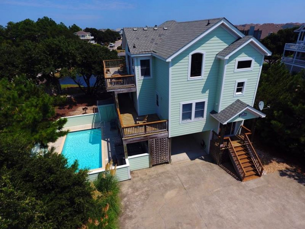 Corolla vacation rental with Sugar Magnolia