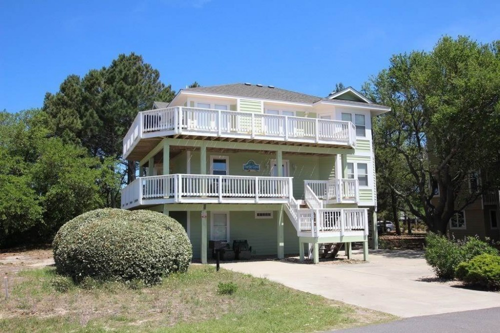 Corolla vacation rental with Turtle Cove
