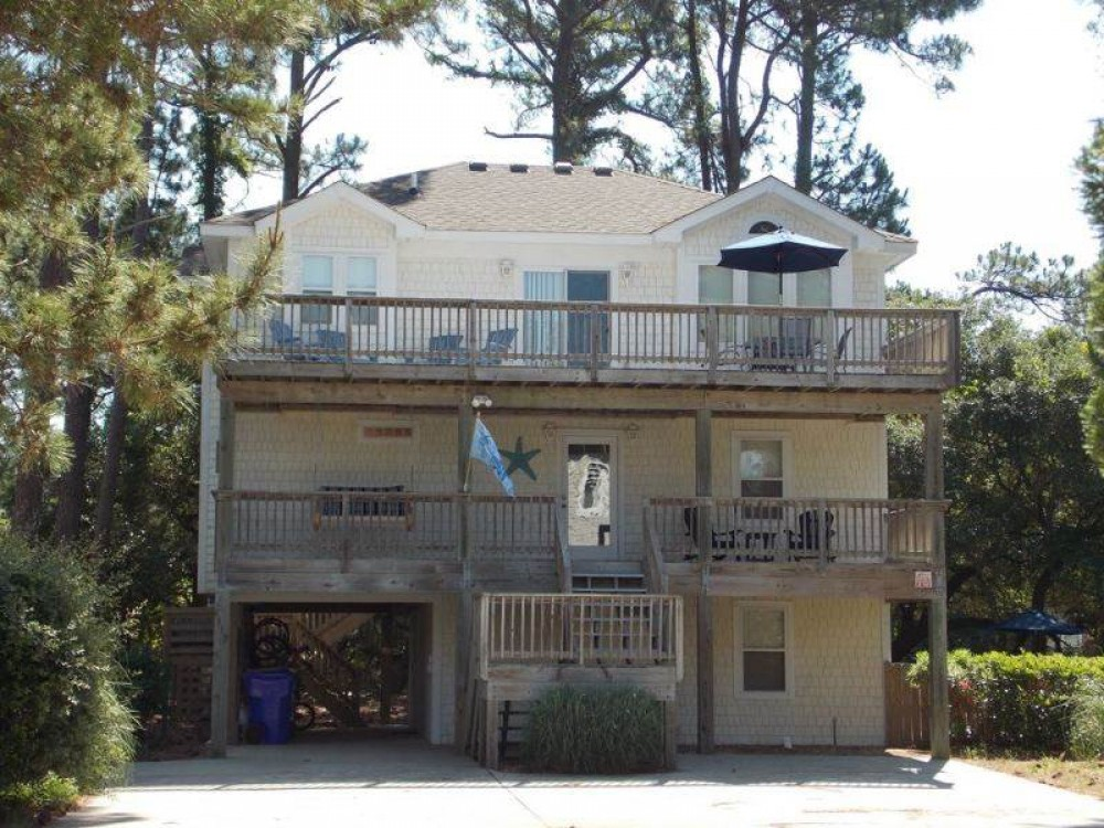 Corolla vacation rental with OBX Star