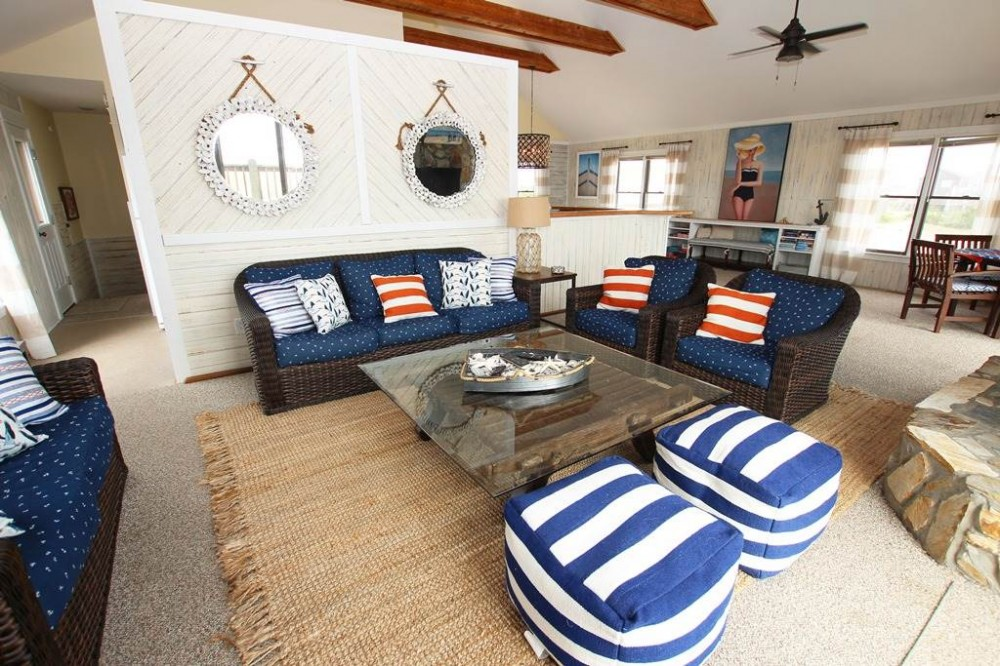 Corolla vacation rental with The Salty Anchor