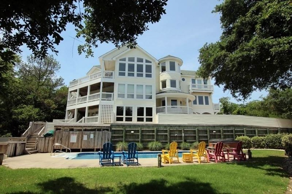 Corolla vacation rental with Carolina on my Mind