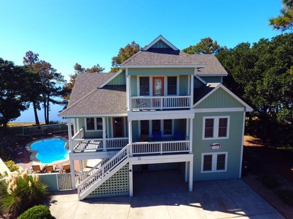 Corolla vacation rental with Sandcastle
