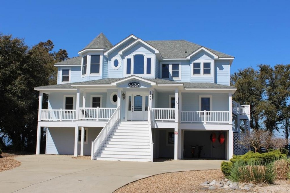 Corolla vacation rental with Lions Den