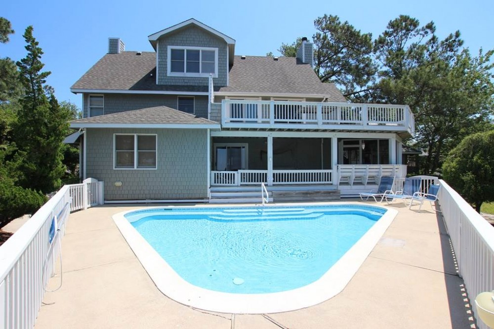 Corolla vacation rental with Worley Home