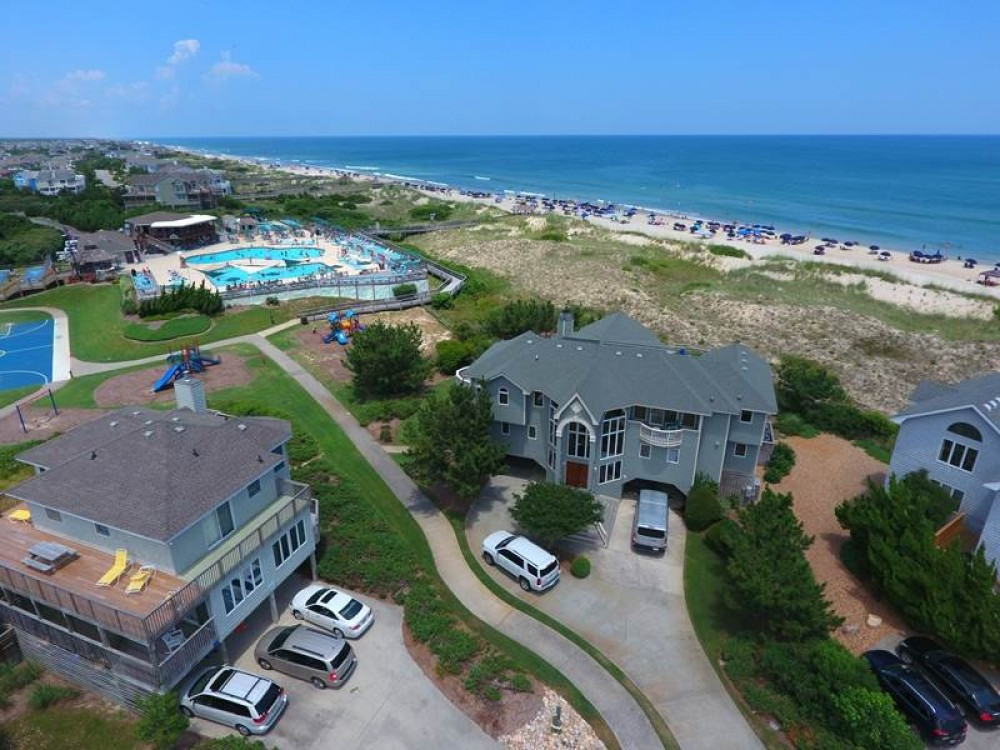 Corolla vacation rental with Serendipity