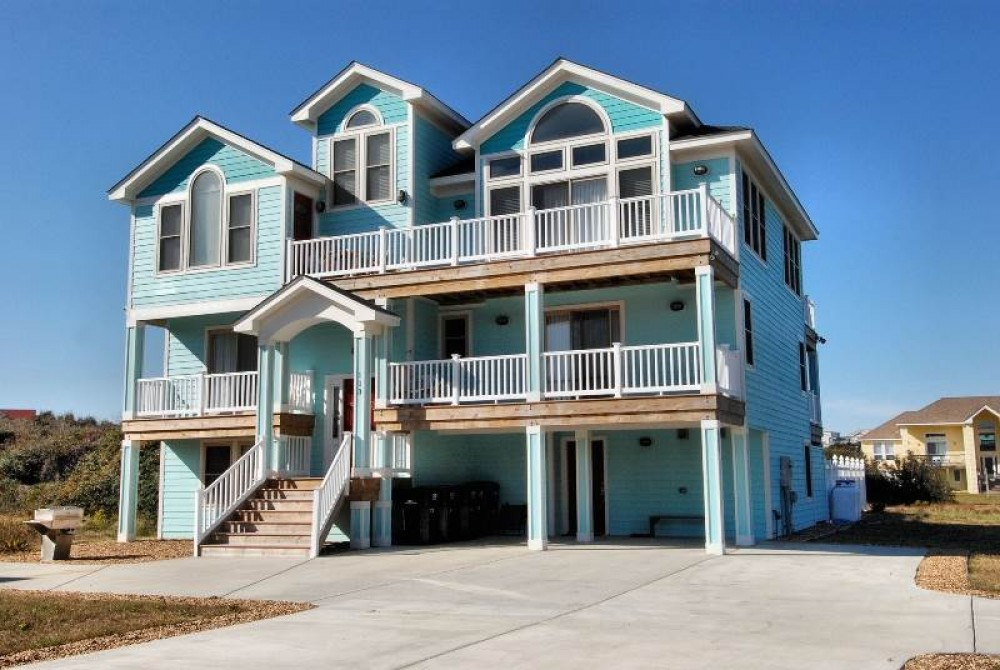 Duck vacation rental with Bleu Dolphin