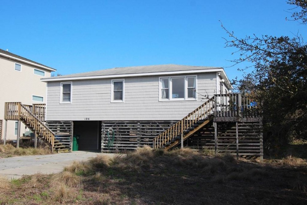 Duck vacation rental with Seas the Day