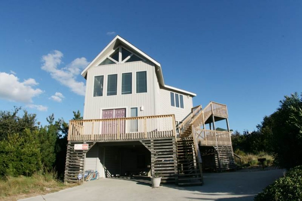 Duck vacation rental with Amazing Sunset