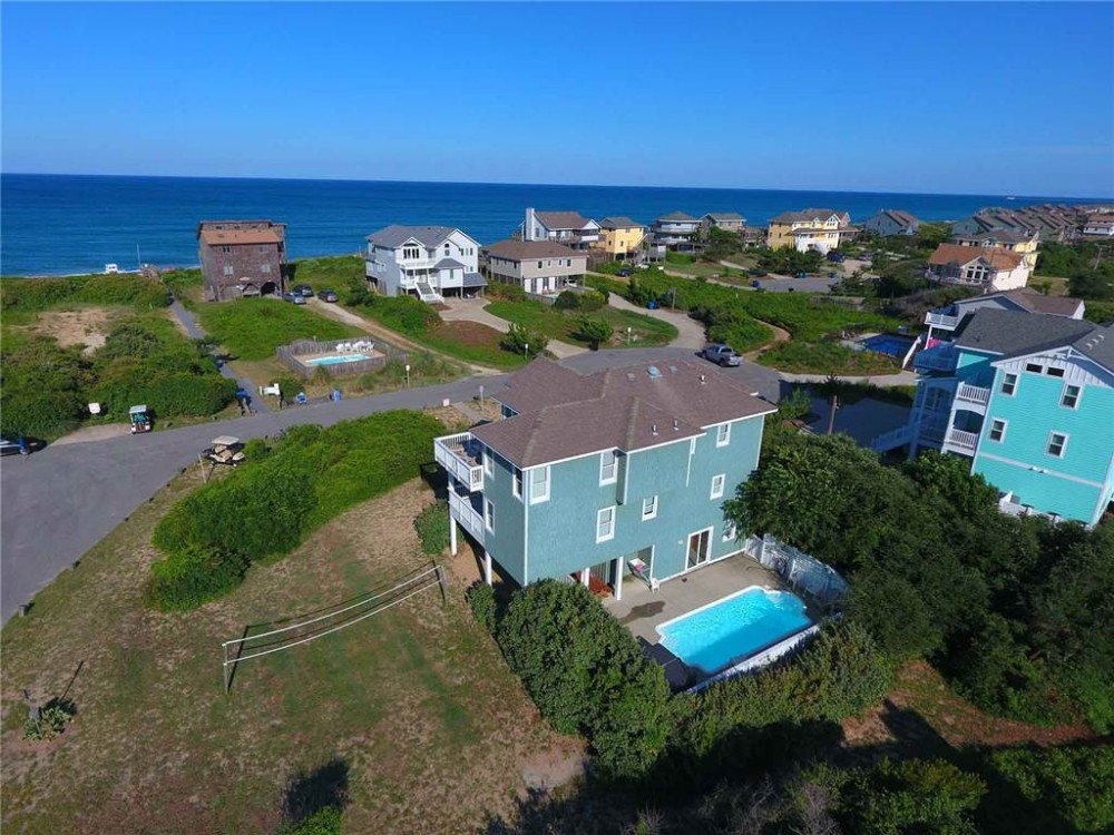 Duck vacation rental with Ocean View