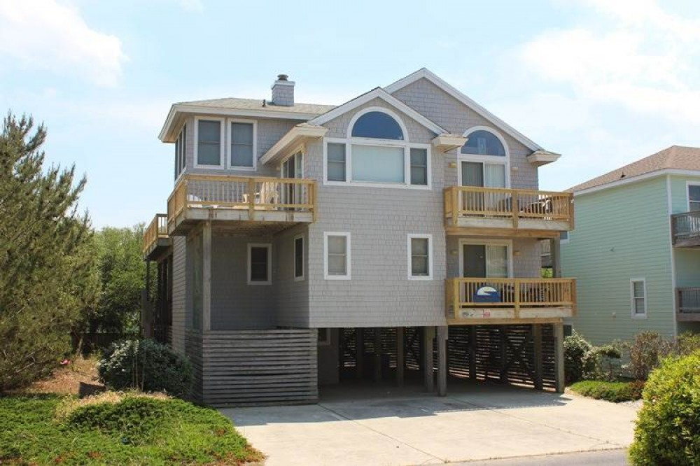 Corolla vacation rental with Stress Free Zone