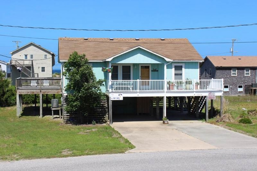 Kitty Hawk vacation rental with Flip Flops   Pop Tops