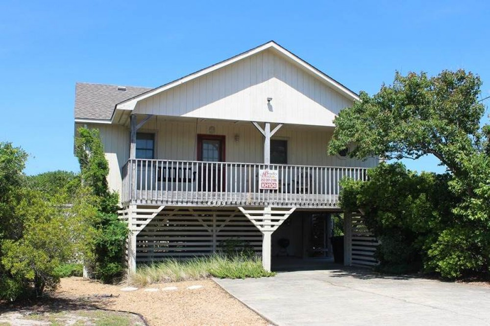 Kitty Hawk vacation rental with Cape COD