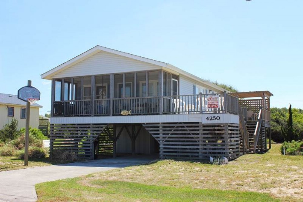 Kitty Hawk vacation rental with Skip to the Beach