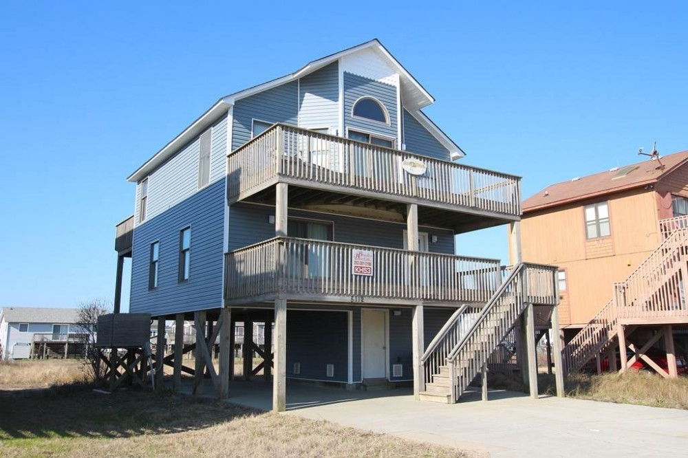 Kitty Hawk vacation rental with Mor Rays