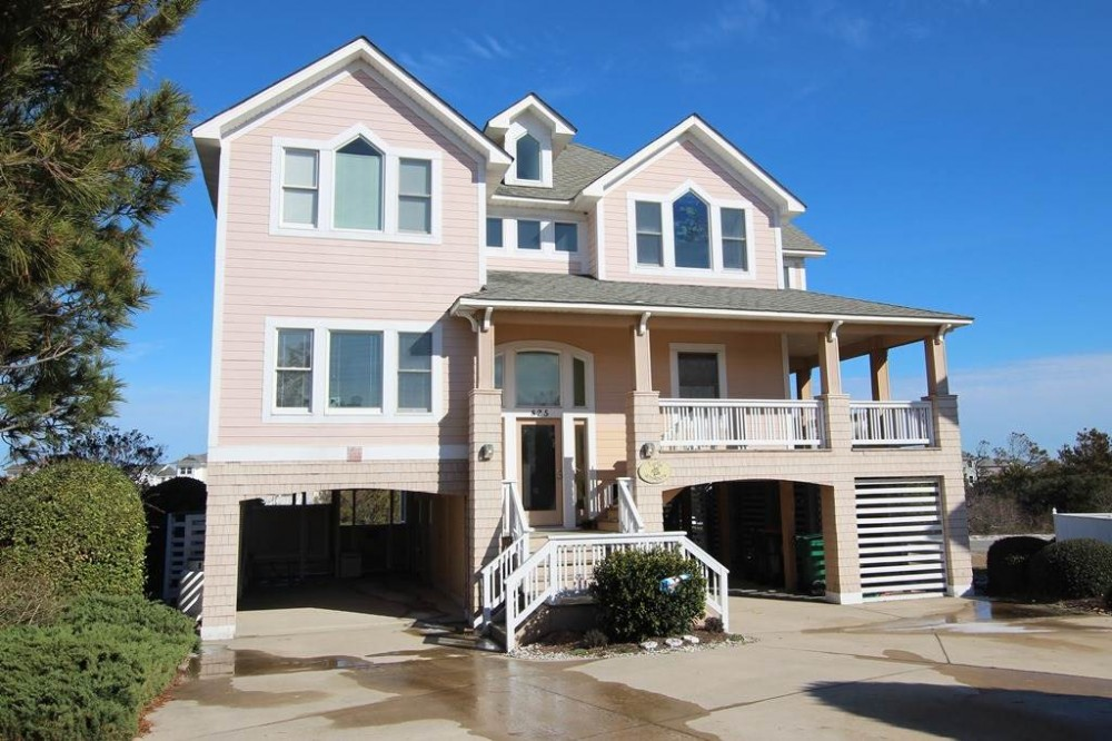 Corolla vacation rental with Turtle Whispers