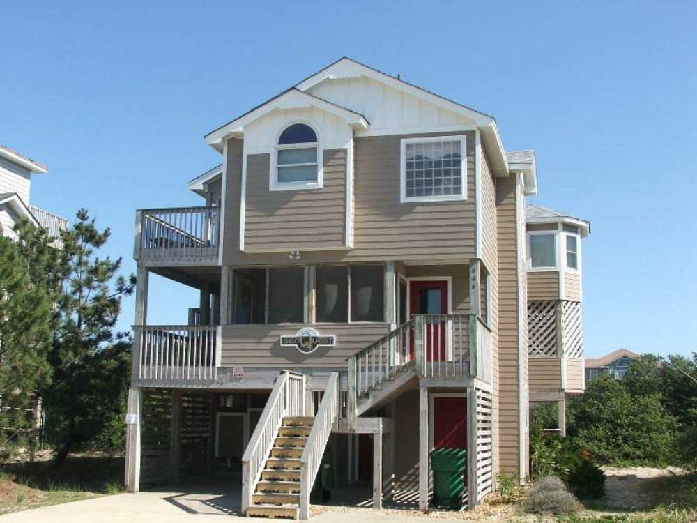 Corolla vacation rental with Sea Quest