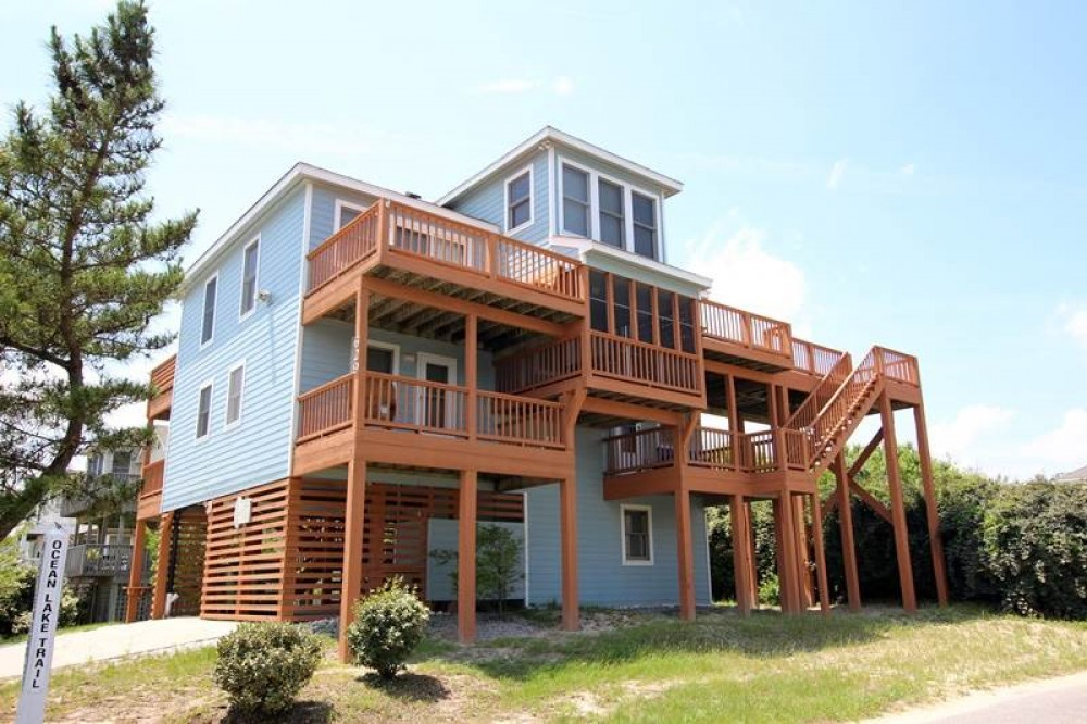 Corolla vacation rental with Lake  s Ocean View