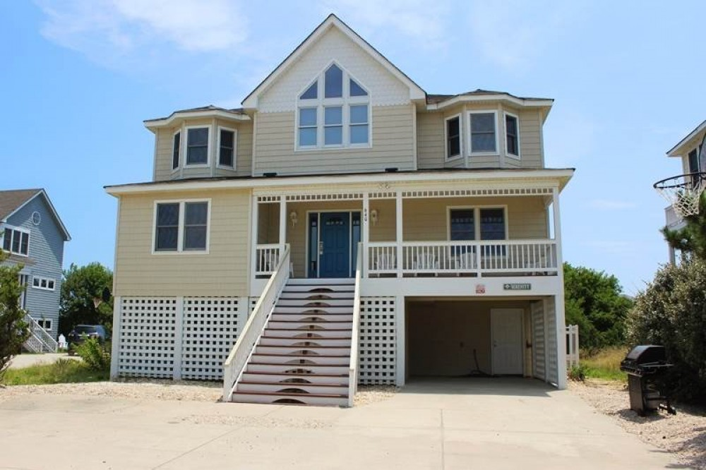 Corolla vacation rental with Serenity