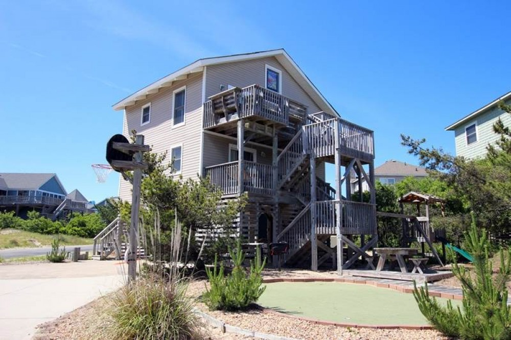 Corolla vacation rental with Seas The Day