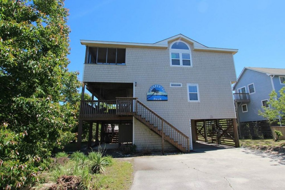 Corolla vacation rental with Whispering Palm