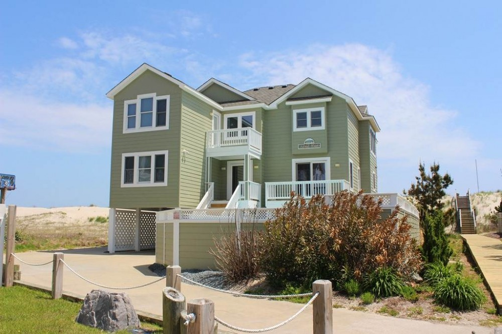 Corolla vacation rental with Sand Crab