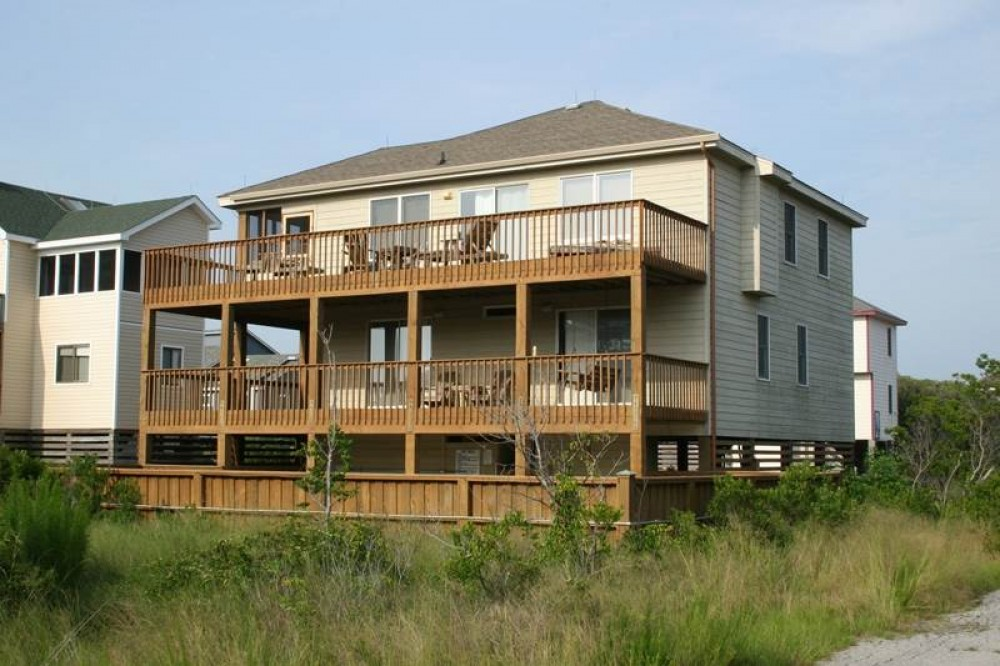 Corolla vacation rental with Canterbury Sands