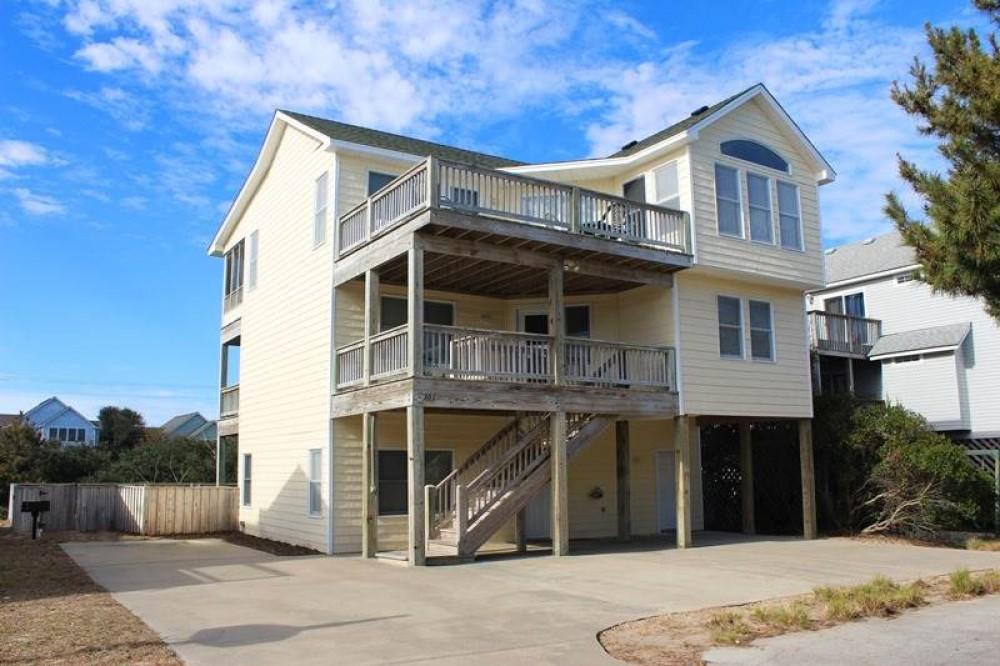 Corolla vacation rental with Seashore Memories
