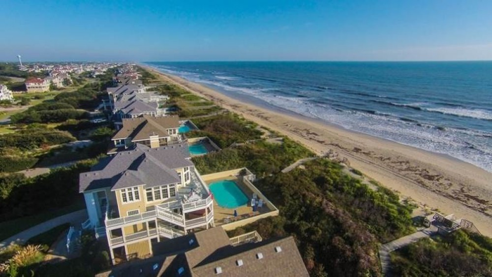 Corolla vacation rental with Pine Haven