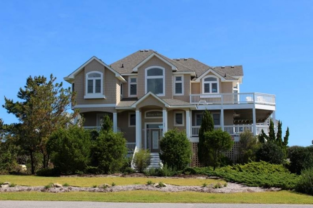Corolla vacation rental with Sugar   N   Spice