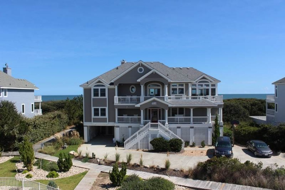 Corolla vacation rental with Right On The Beach