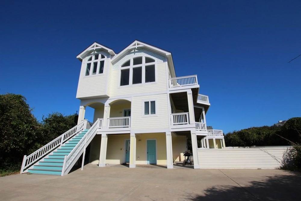 Corolla vacation rental with Treasure Island